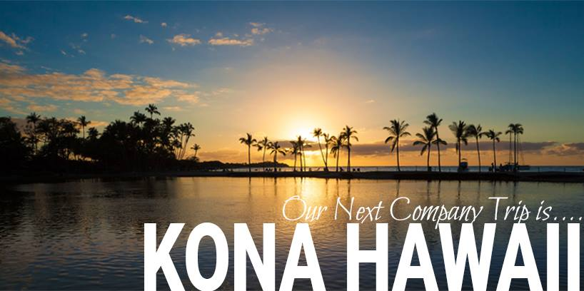 sunrise of Kona Hawaii